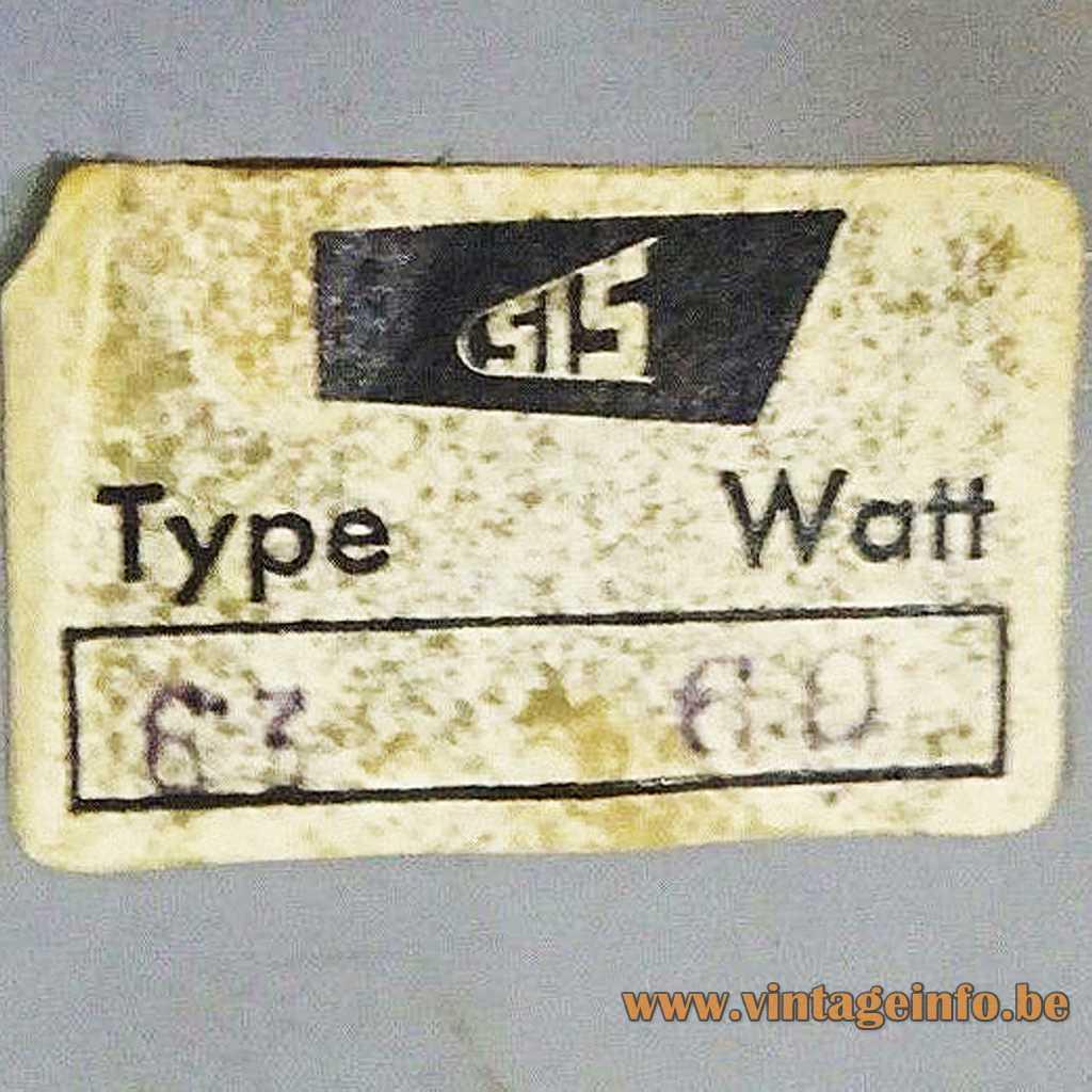 SIS LICHT label