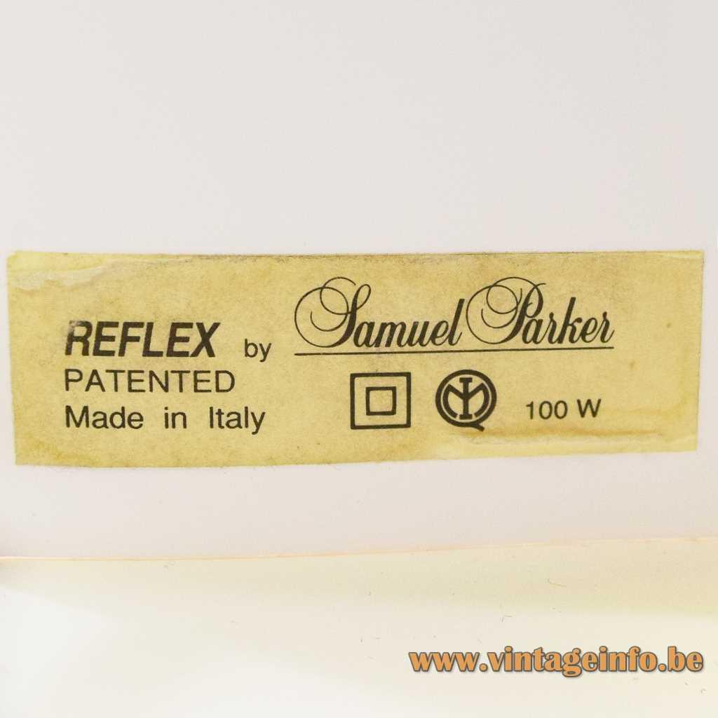 SLAMP Samuel Parker label