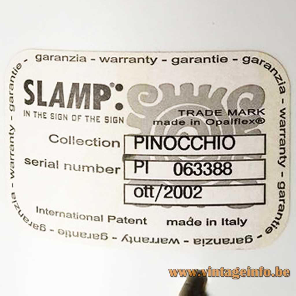 SLAMP label