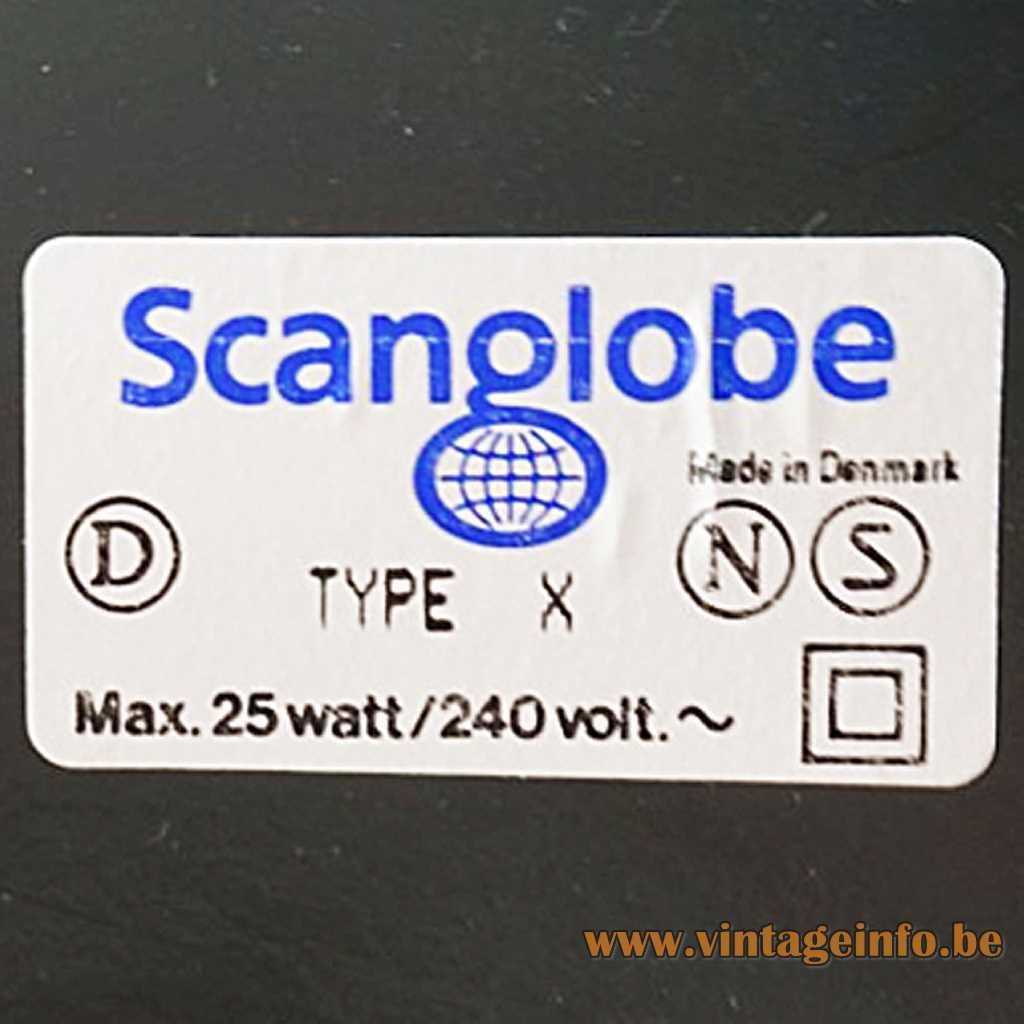 Scanglobe A/S Denmark label