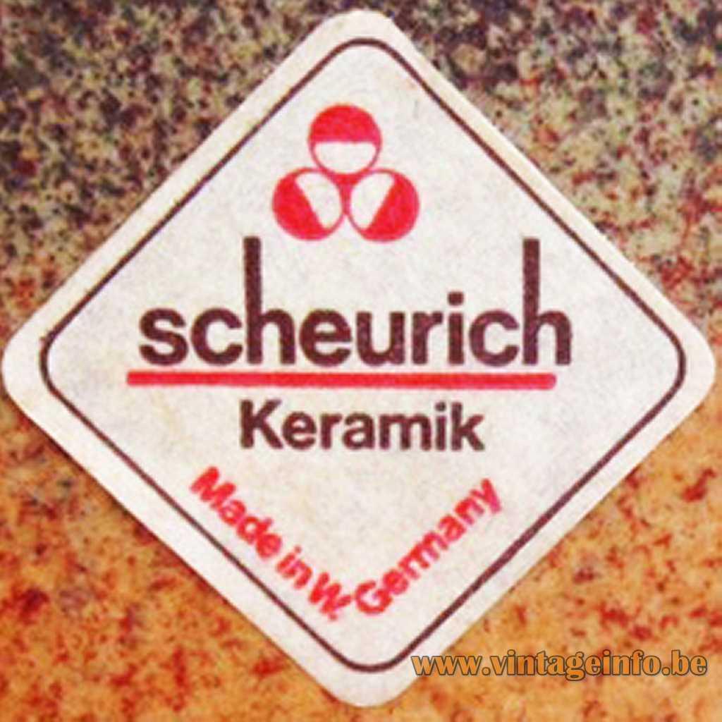 Scheurich label