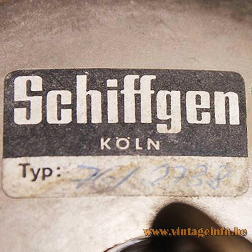 Schiffgen Koln Label