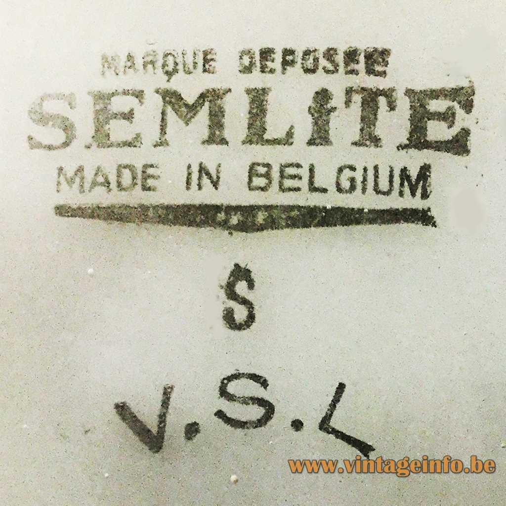 Semlite VSL Belgium printed logo label