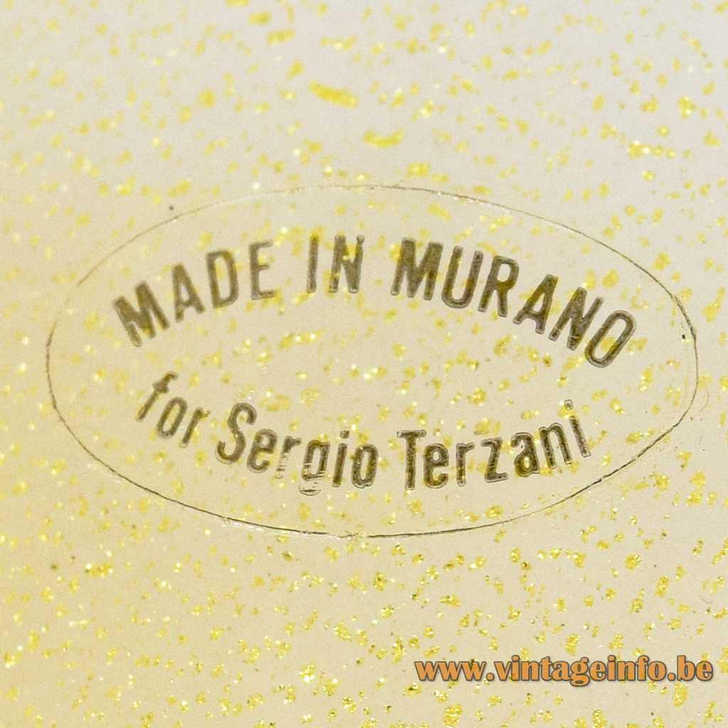 Sergio Terzani label