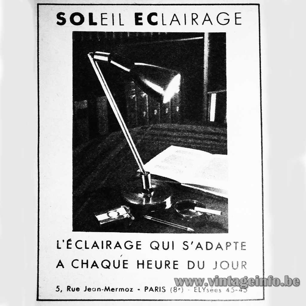 Solec - Soleil Eclairage pub
