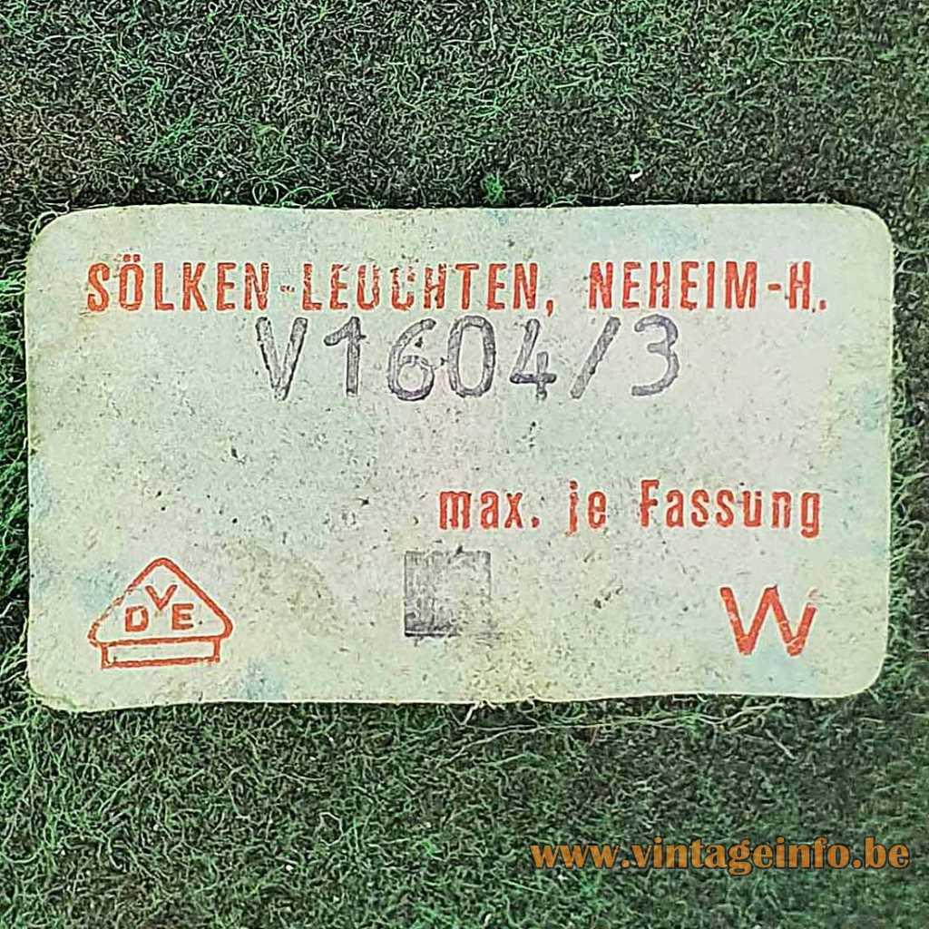 Solken-Leuchten label