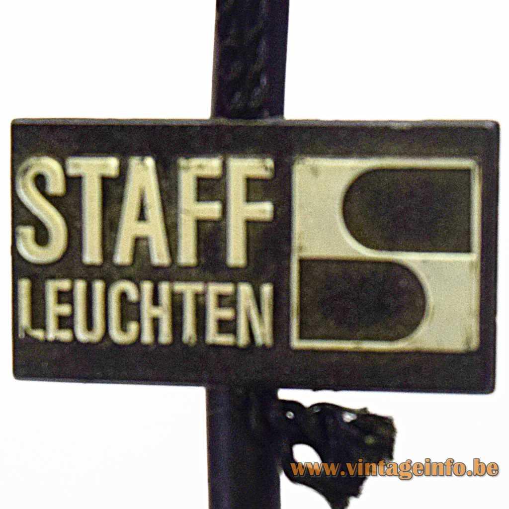 Staff plastic label
