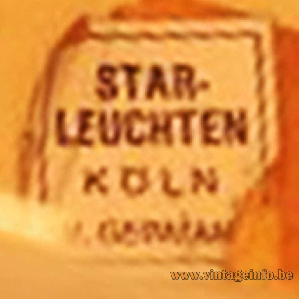 Star-Leuchten label