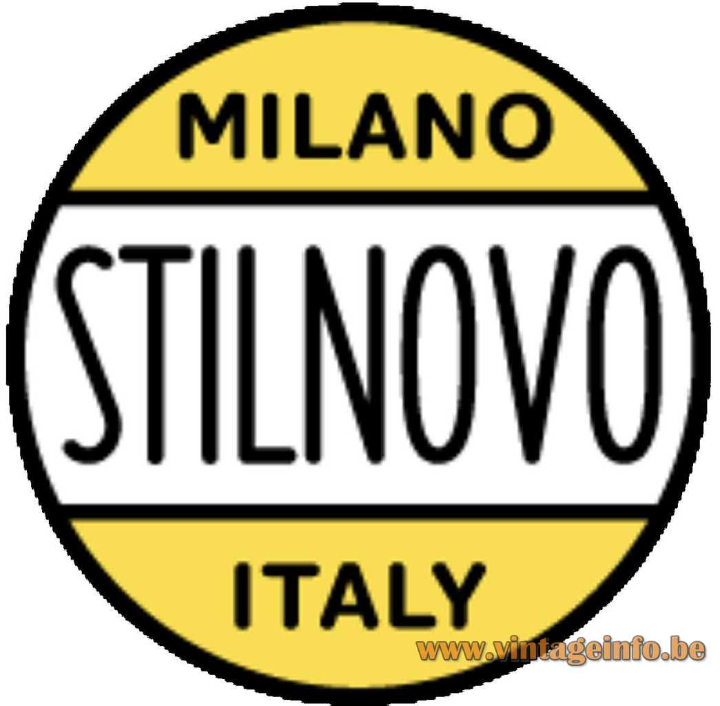 Stilnovo Milano Italy logo 1950s