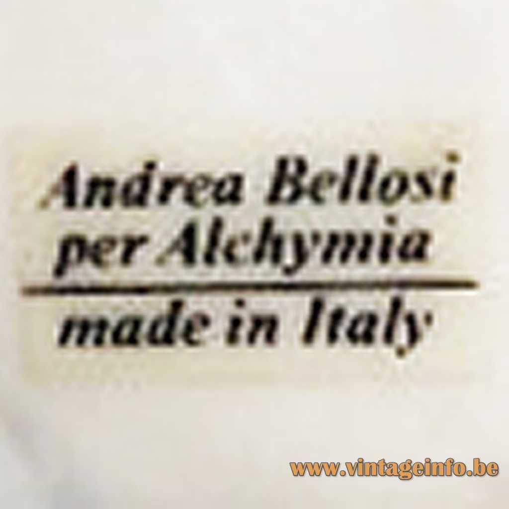 Studio Alchimya label
