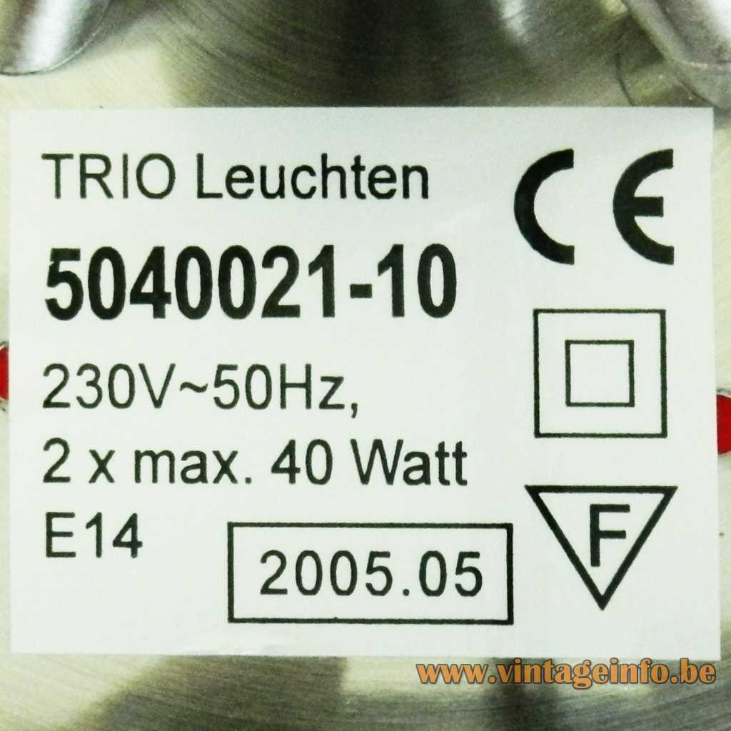 TRIO Leuchten label