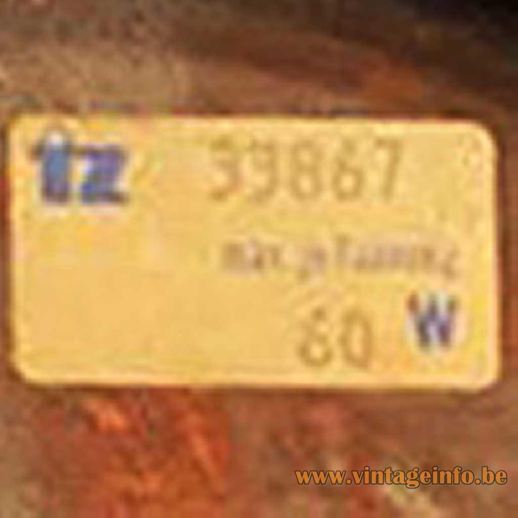TZ Leuchten label