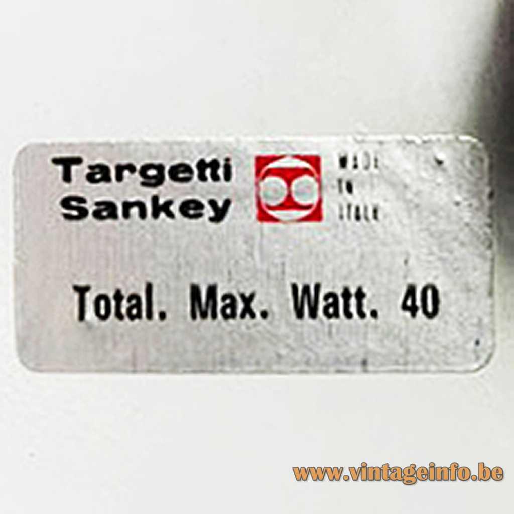 Targetti Sankey label
