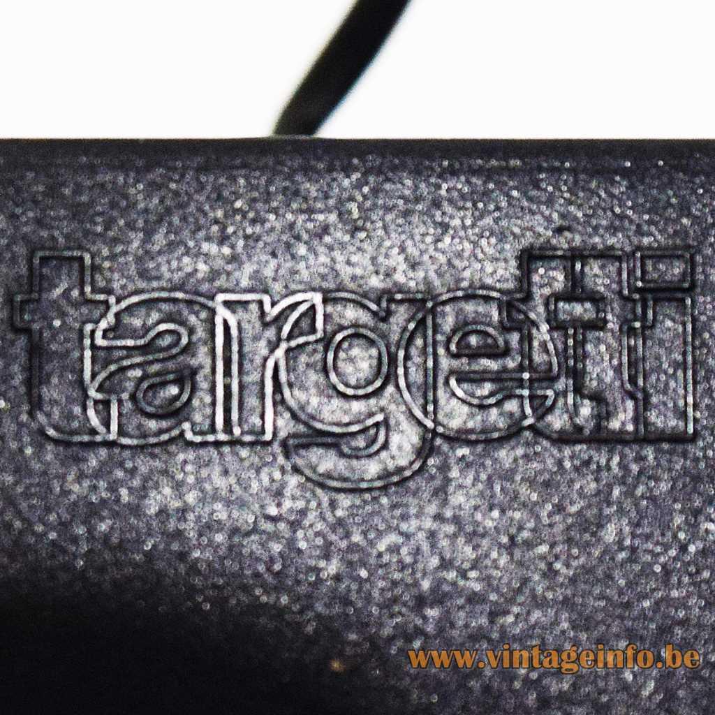 Targetti pressed logo