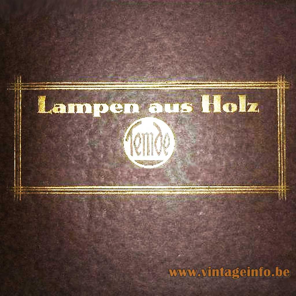Temde- Lampen Aus Holz logo