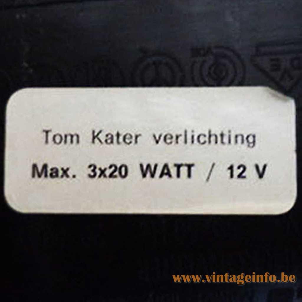 Tom Kater Verlichting label