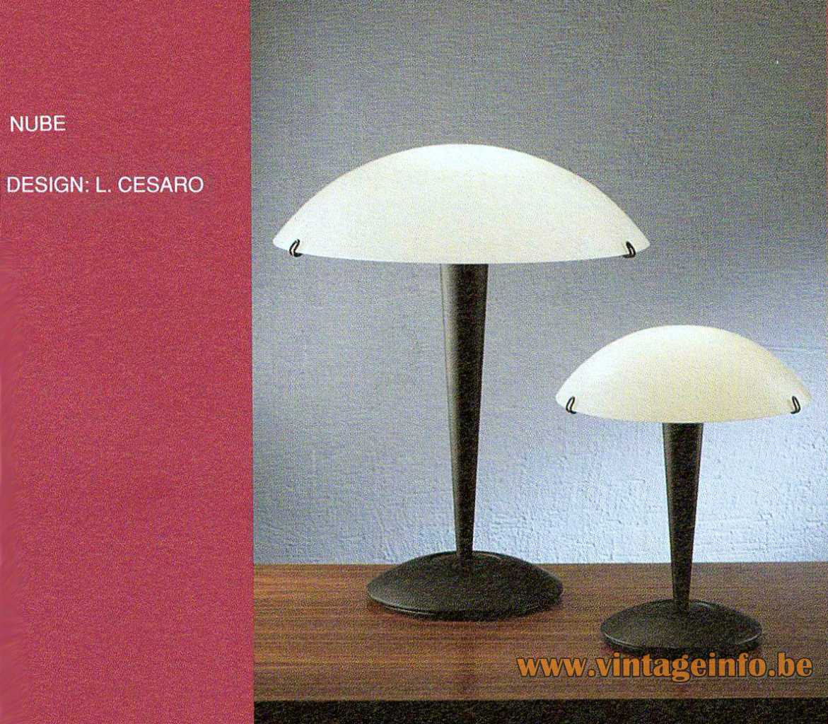 Tre Ci Luce Nube Table Lamp - 1990s Design: Luciano Cesaro - Catalogue Picture