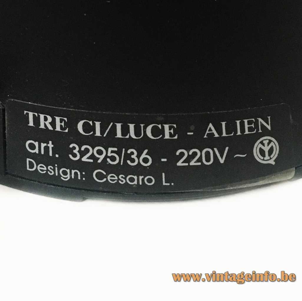 Tre Ci Luce label