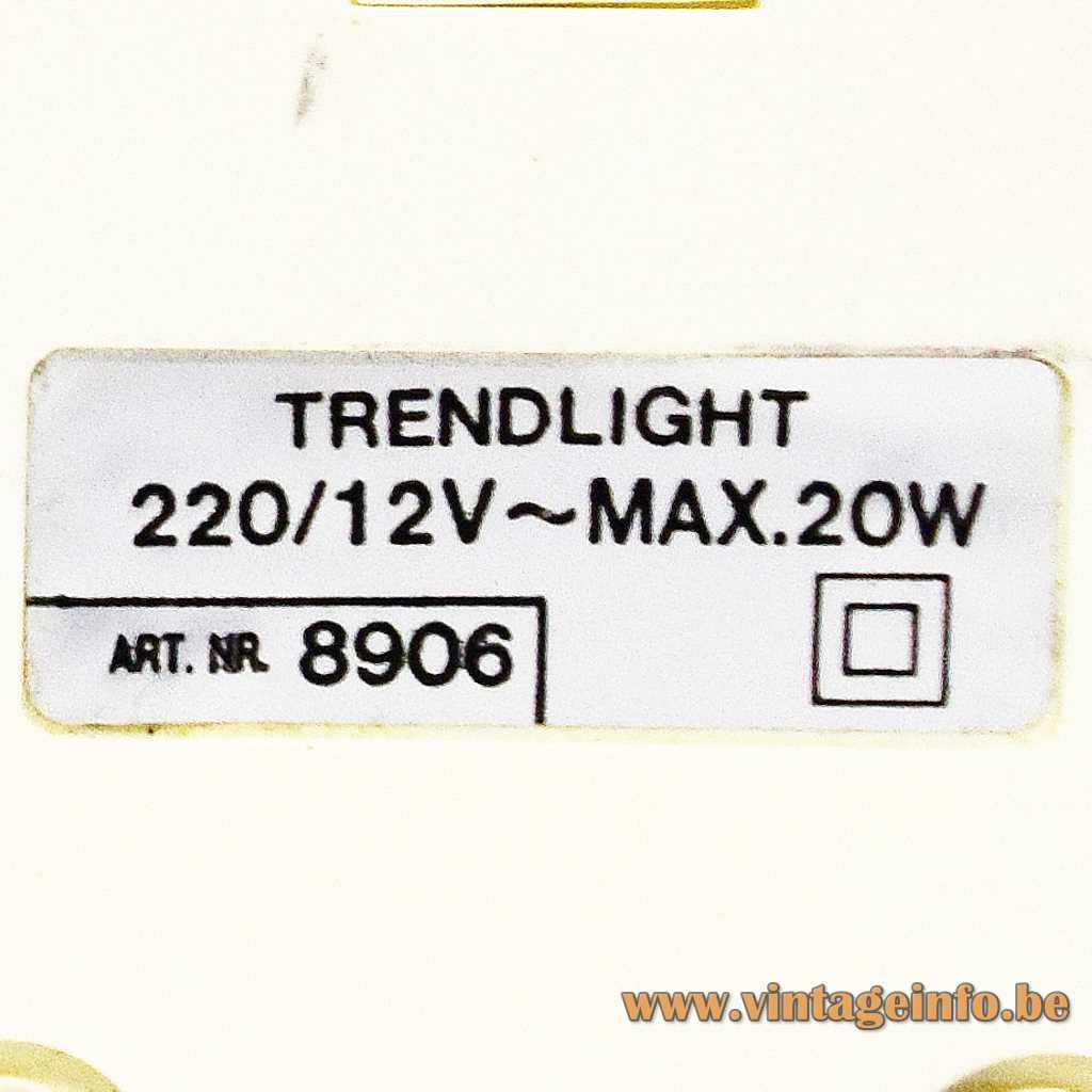 Trendlight label
