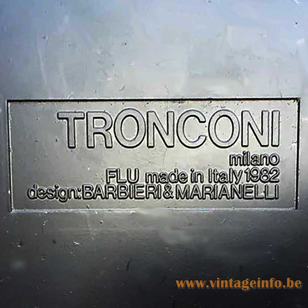 Tronconi pressed label