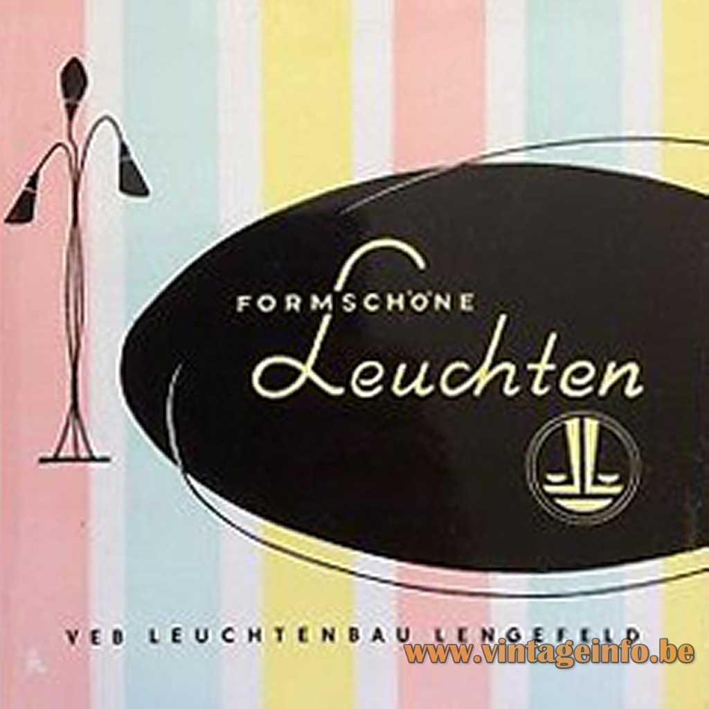 VEB Leuchtenbau Lengefeld catalogue logo