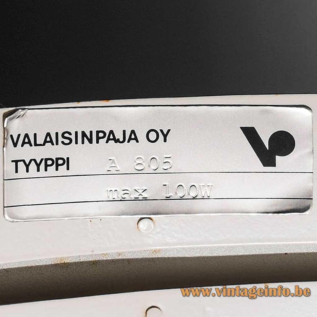 Valaisinpaja Oy label