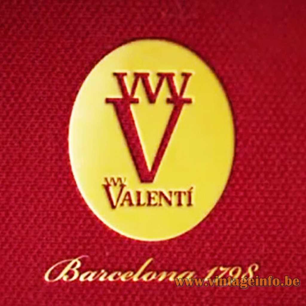 Valenti Barcelona Spain logo