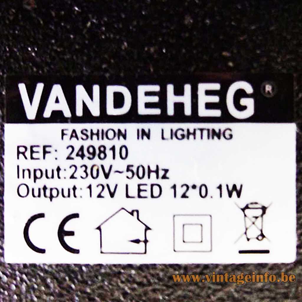 VANDEHEG label