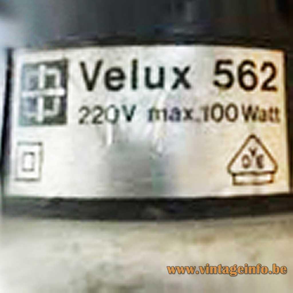 Velux label