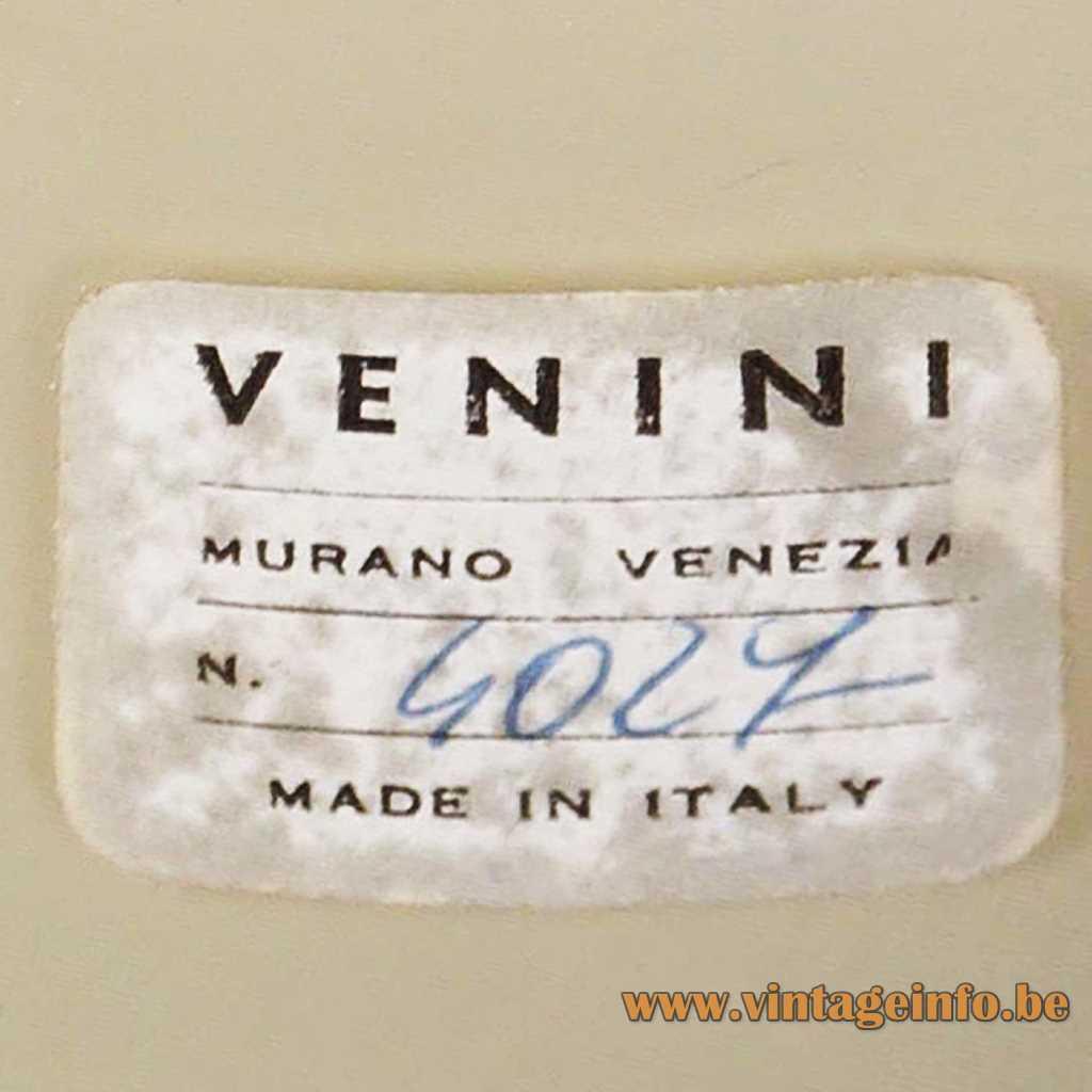 Venini label