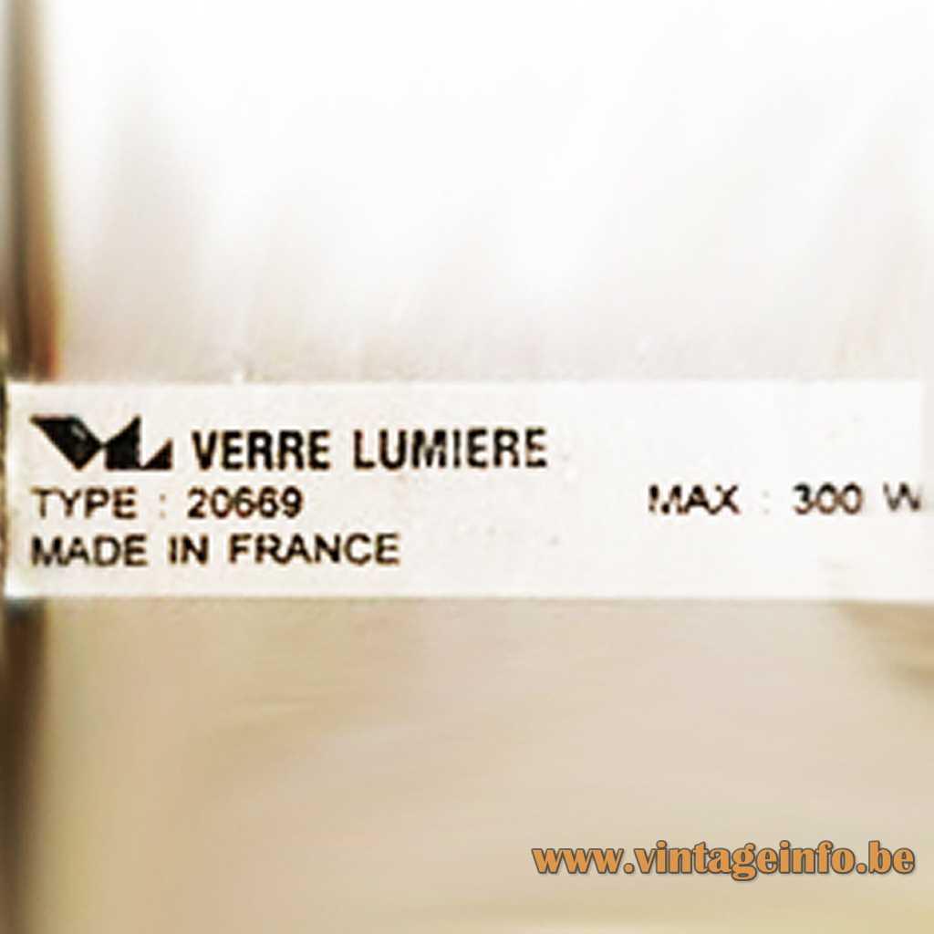 Verre Lumière label