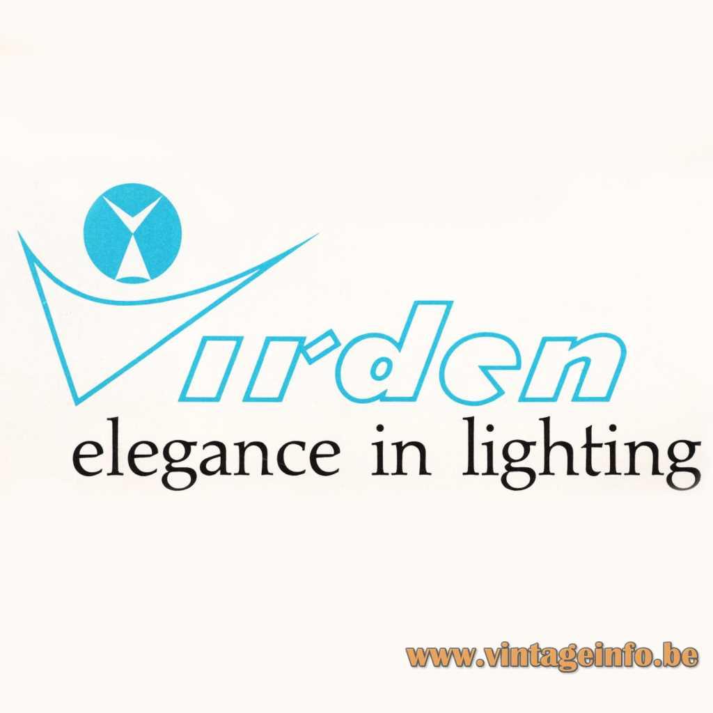 Virden Elegance In Lighting logo 1968