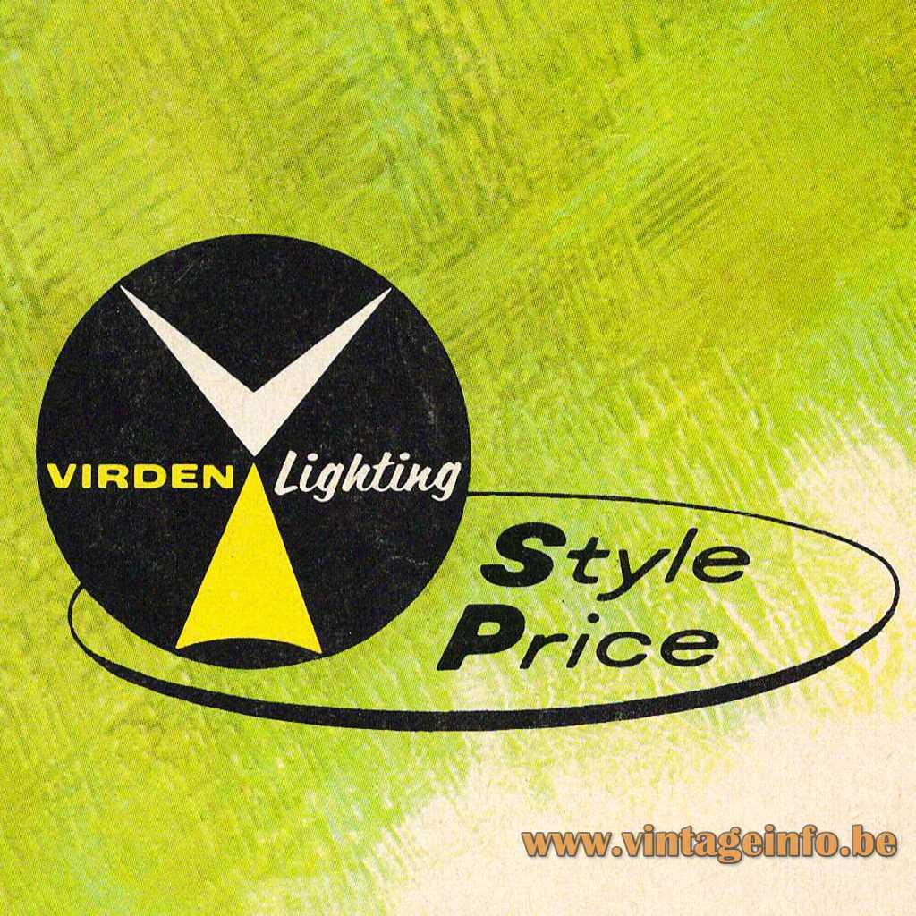 Virden Lighting logo 1966