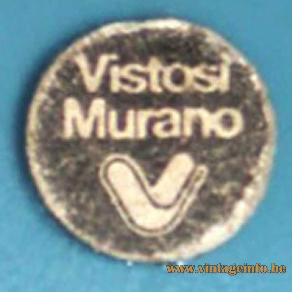 Vistosi Murano label