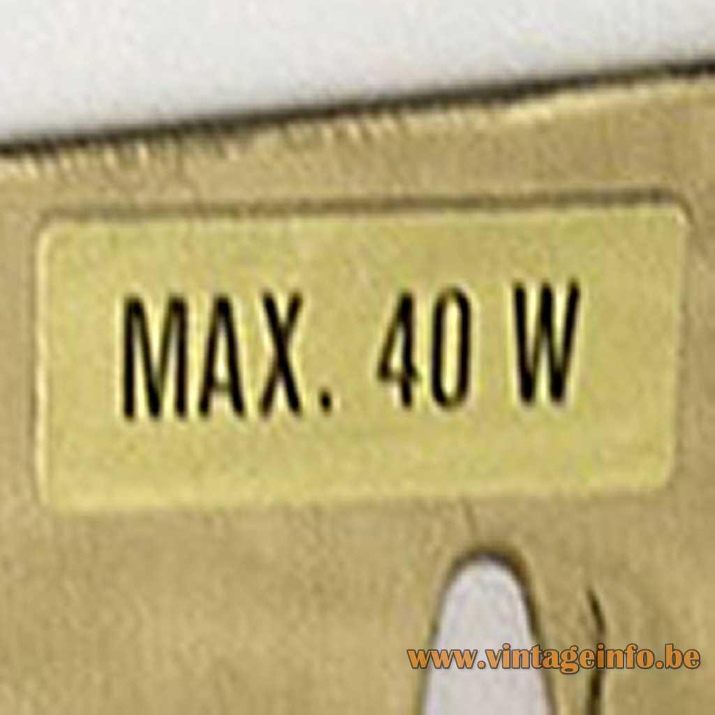 Vitrika label max 40 w