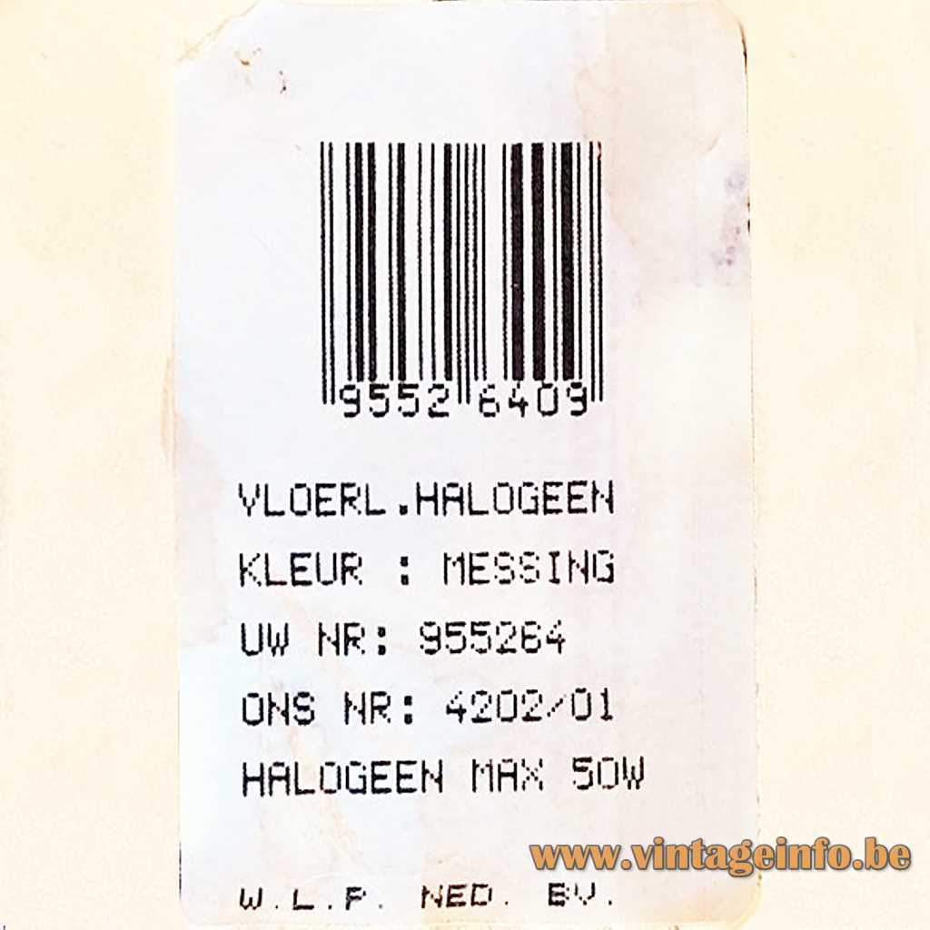 W.L.P. Ned. BV. label