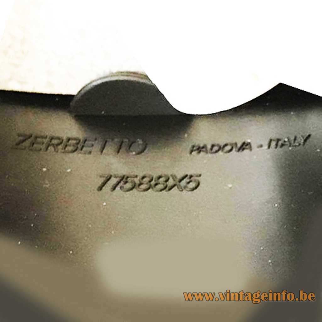Zerbetto SPA pressed label
