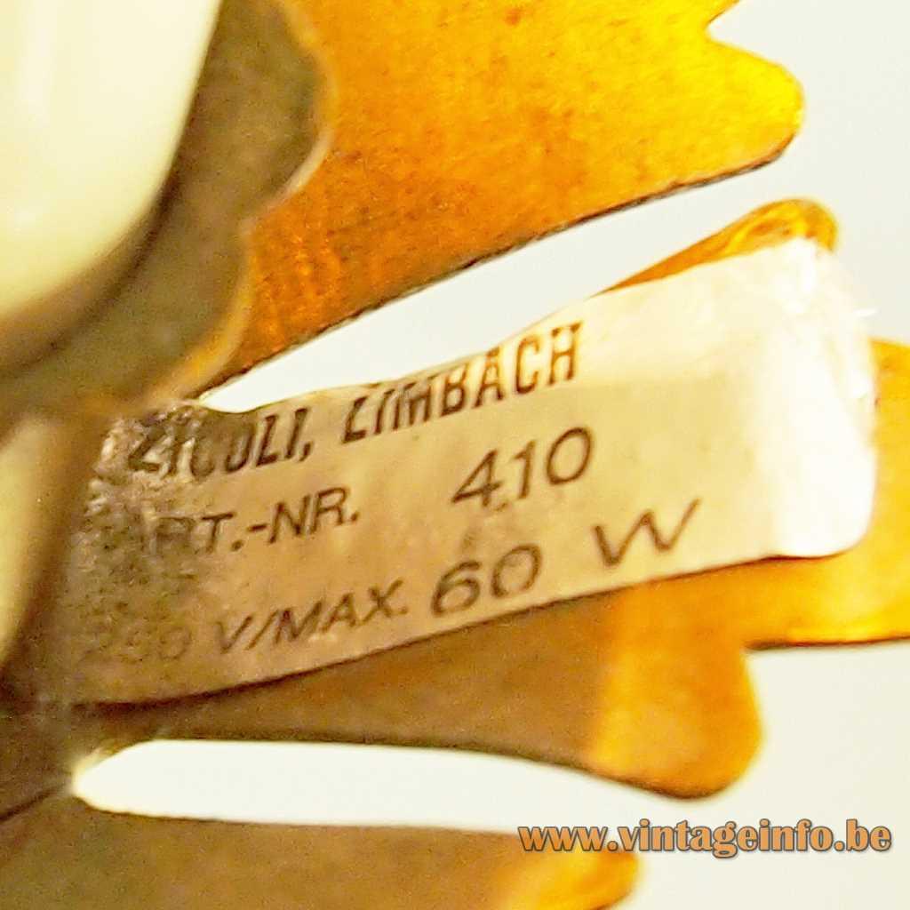 Zicoli Limbach label