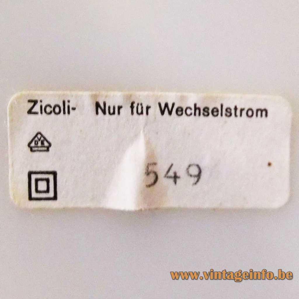 Zicoli label