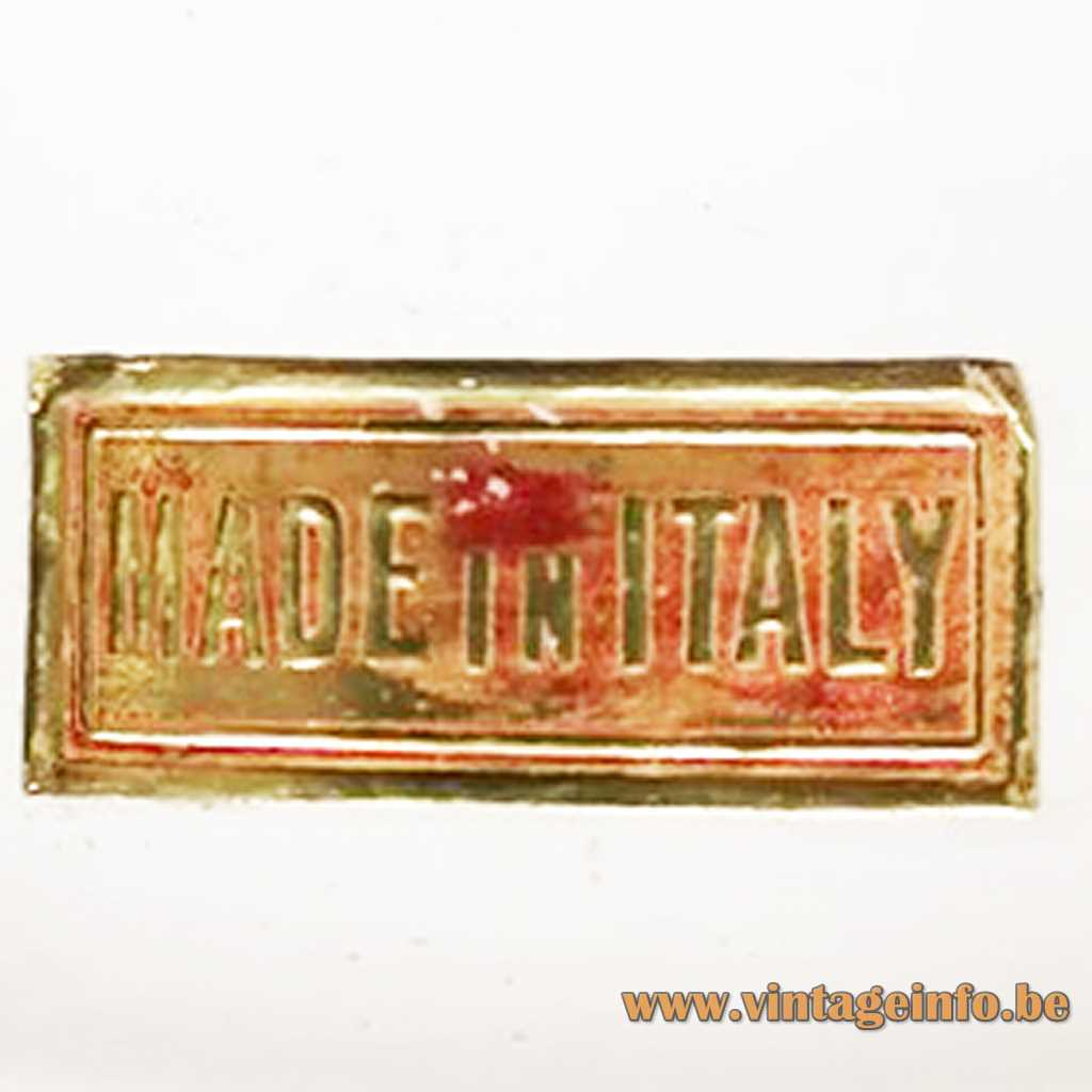 Zonca International SpA Made in Italy label