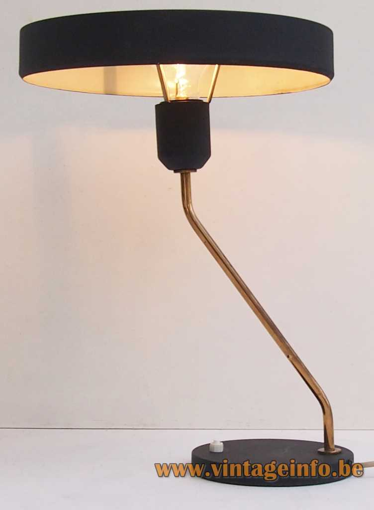 Philips Junior desk lamp design: Louis Kalff 1960s 1970s successor: the Philips Romeo desk lamp
