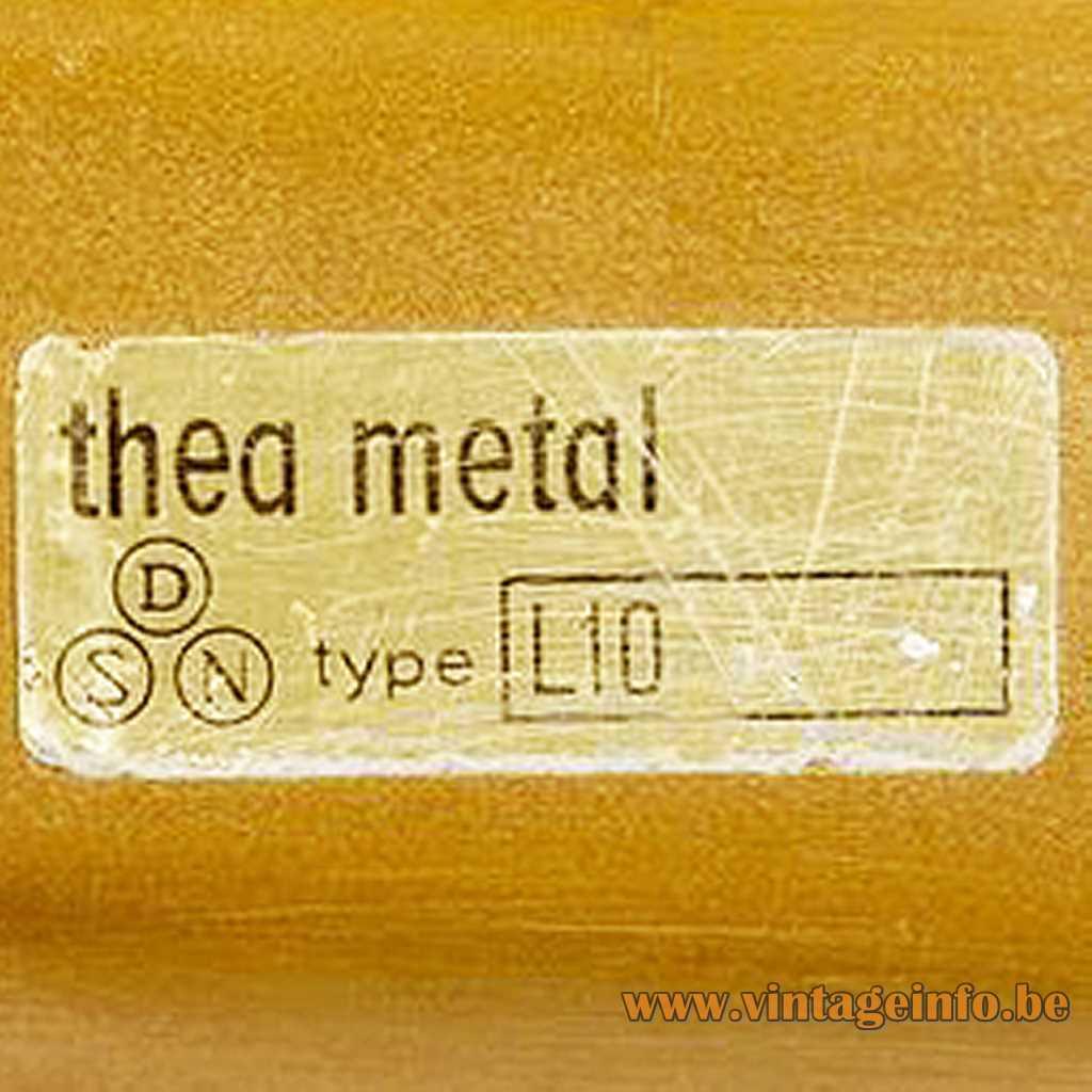 Thea Metal Denmark label