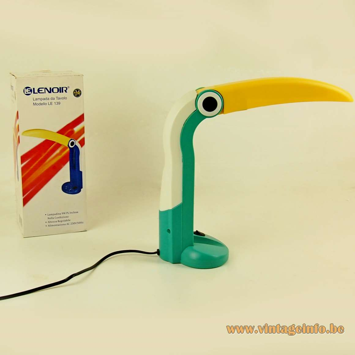 Huangslite Toucan Desk Lamp - Lenoir