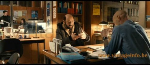 Philips Timor 69 desk lamp used as a prop in the 2014 French comedy film Supercondriaque