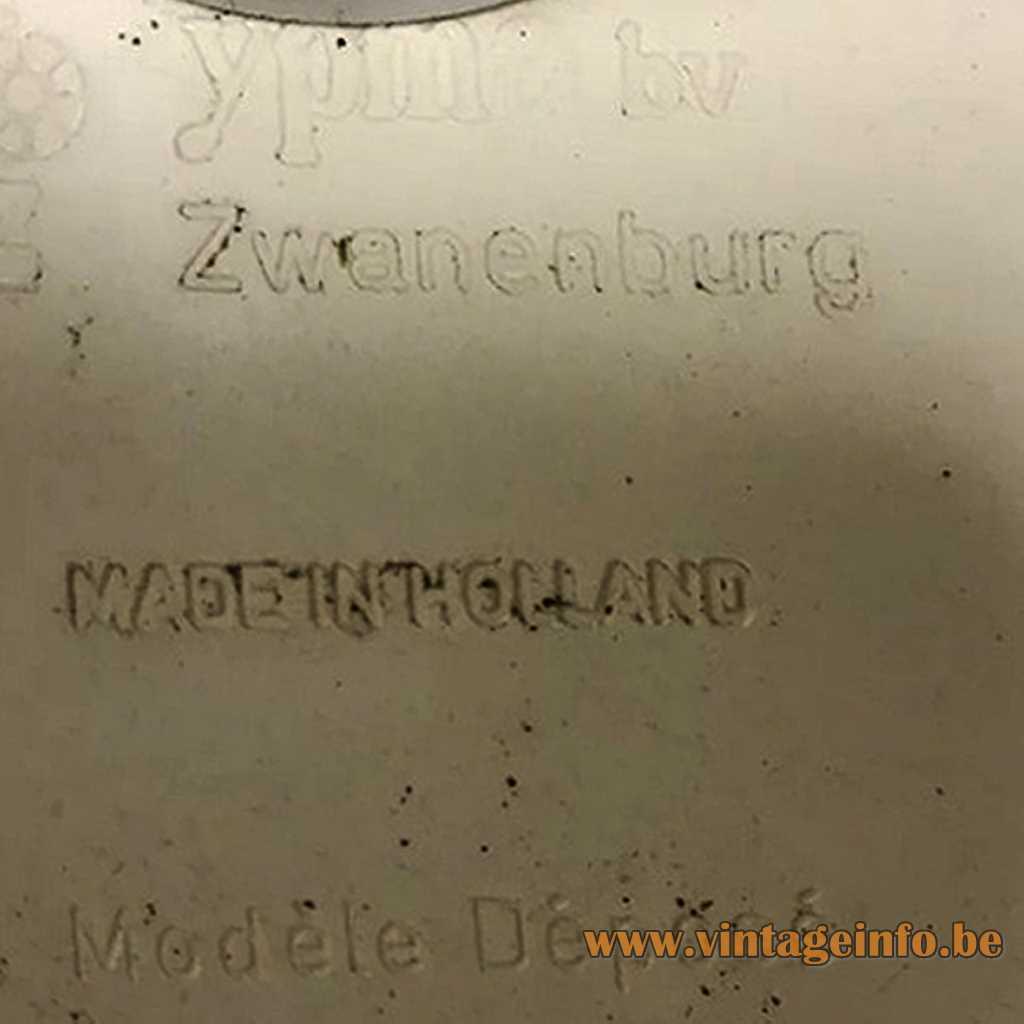 YPMA Zwanenburg The Netherlands pressed logo