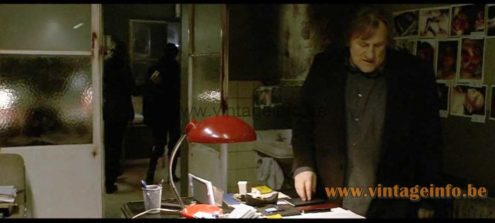 1970s Bauhaus style desk lamp used as a prop in the 2009 film Diamant 13