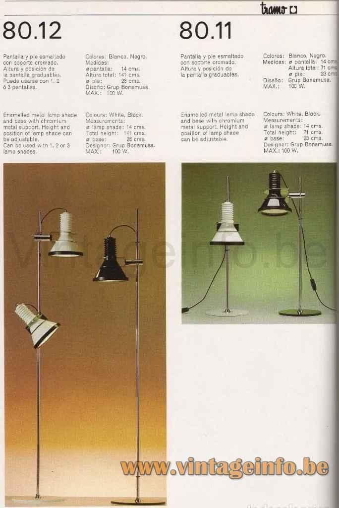 Tramo Clamp Floor Lamp - Catalogue Picture