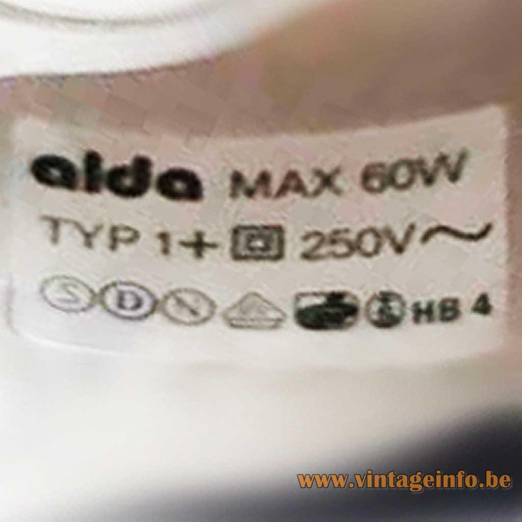 Alda Sweden label