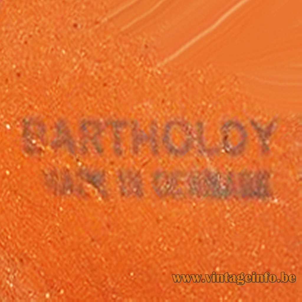 Bartholdy Denmark Stamp