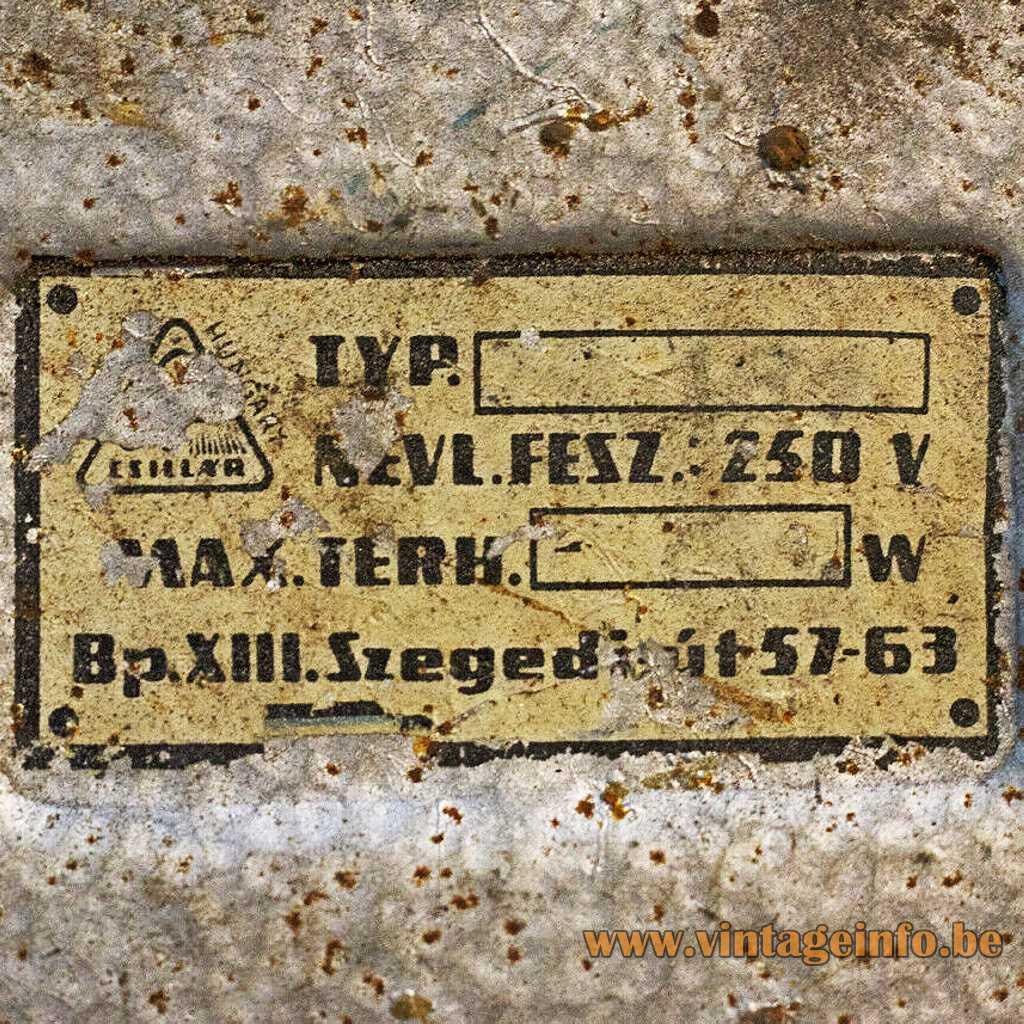Csillár Hungary label